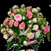 Bouquet romantico con roselline mini eden