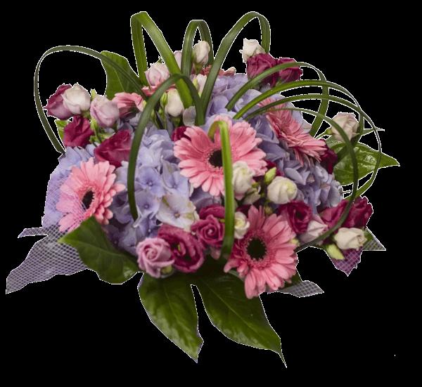 Bouquet con fiori di stagione