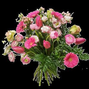 Fiori di stagione tonalità rosa